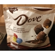 Dove Milk Chocolate: Calories