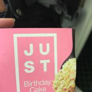 Photo Of User Added Just Mayo Birthday Cake Cookie Dough