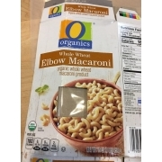 O Organics Elbow Macaroni, Whole Wheat