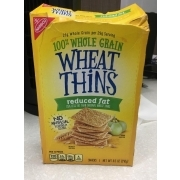Wheat Thins 100% Whole Grain Snacks, Reduced Fat