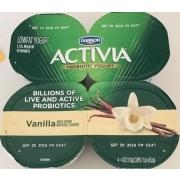 Dannon Activia Probiotic Yogurt