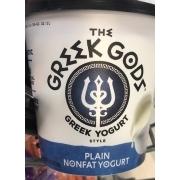 Greek Gods Greek Yogurt, Non-fat, Plain