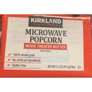 Kirkland Signature Microwave Popcorn Movie Theater Butter Calories Nutrition Analysis More Fooducate