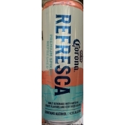 Corona Refresca Spiked Refresher Guava Lime Calories Nutrition Analysis More Fooducate