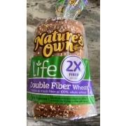 Nature's Own Bread, Double Fiber Wheat