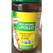 Knorr Chicken Flavor Bouillon: Calories