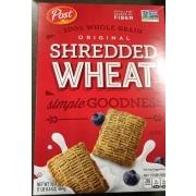 Post Shredded Wheat, Original, Spoon