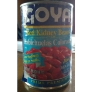 Goya Red Kidney Beans Calories Nutrition Analysis More Fooducate